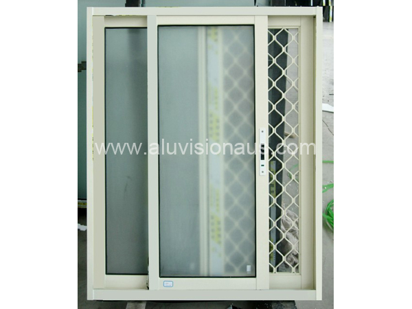 Sliding Window with Security Flyscreen