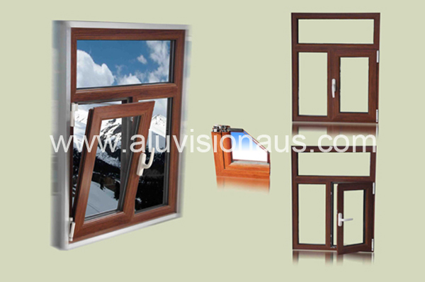 Exported Tilt & Turn Window with AS2047 in Australia & NZ
