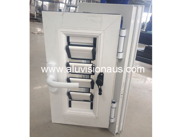 Aluminum Frame Shutter & Louver Adjustable Casement Window