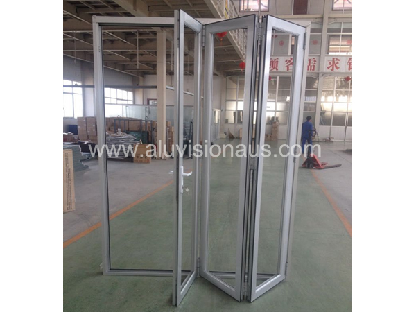 Customized Aluminum Bifold Door With Good Looking & High Quality Passed AS2047 Standard