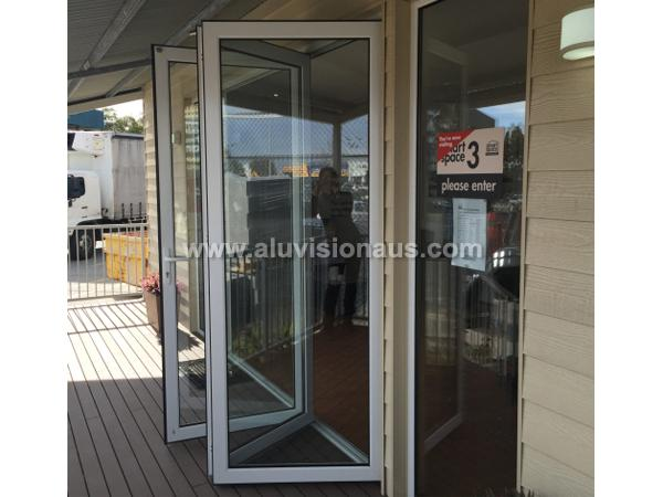 High quality aluminum bifold door passed AS2047 standard