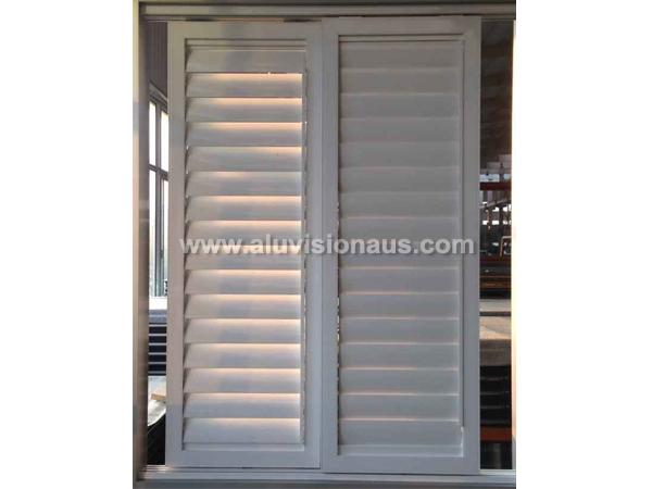 New product adjust aluminum louver sliding window passed AS2047