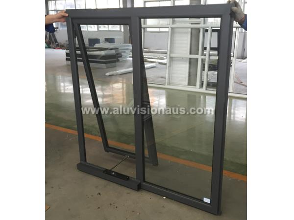 Aluminum Awning Window With Winder Comply to AS2047 Standard