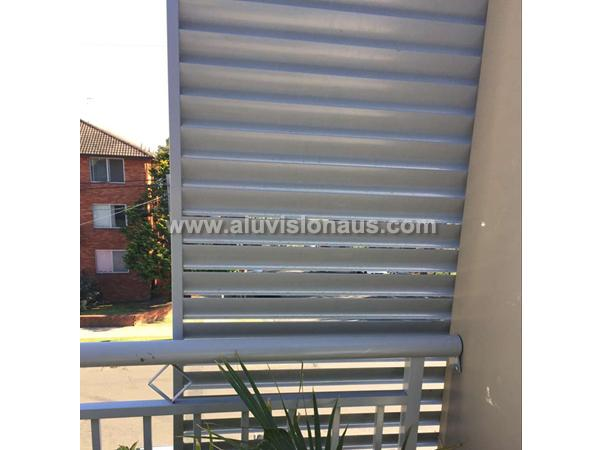 Aluminum shade blinds louver & shutter window with AS2047