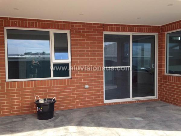 Aluminum Frame Sliding Door With AS2047 Certification