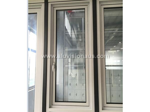 FL100 Series Commercial Aluminum Side  Hinged Window With AS2047 Standard
