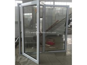 FLGR58 series heat insulation side hinged window with AS2047 certification