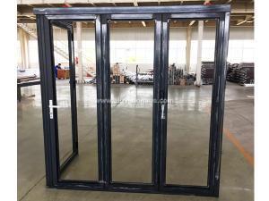 Customized FL70 Series Corner Bi-fold Door & Hinged Door Passed AS2047