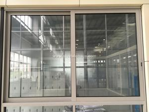 FL100 Series Commercial Aluminum Sliding Window With Flyscreen Gained AS2047 Certification