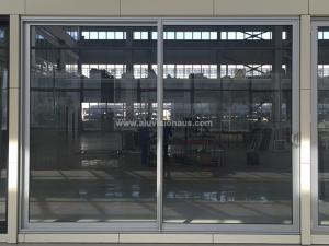 FL100 Series Commercial Aluminum Sliding Door With AS2047 Standard